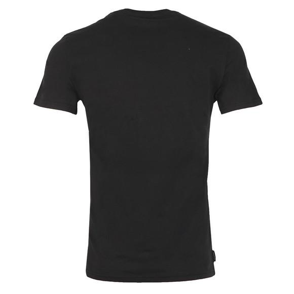 Superdry Mens Black Core Logo Sport Stripe T-Shirt main image