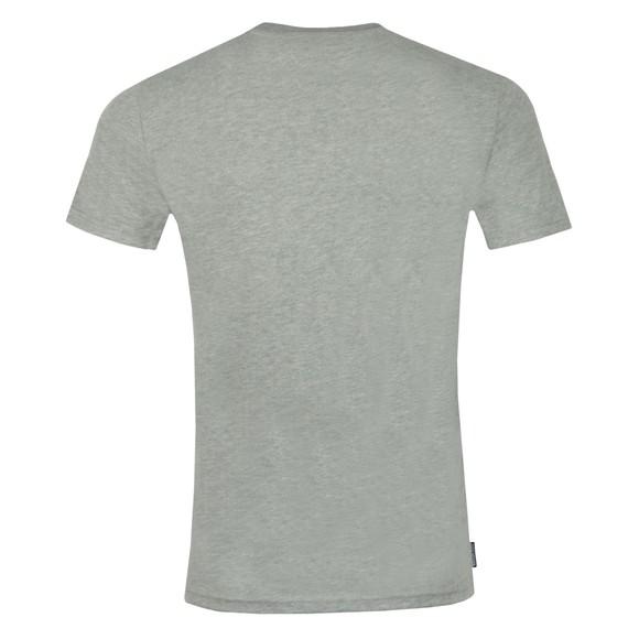 Superdry Mens Grey Core Logo Sport Stripe T-Shirt main image