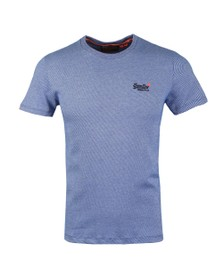Superdry Mens Blue Vintage Emb T-Shirt