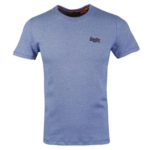 Superdry Mens Blue Vintage Emb T-Shirt main image