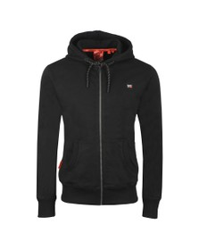Superdry Mens Black Collective Zip Hoodie