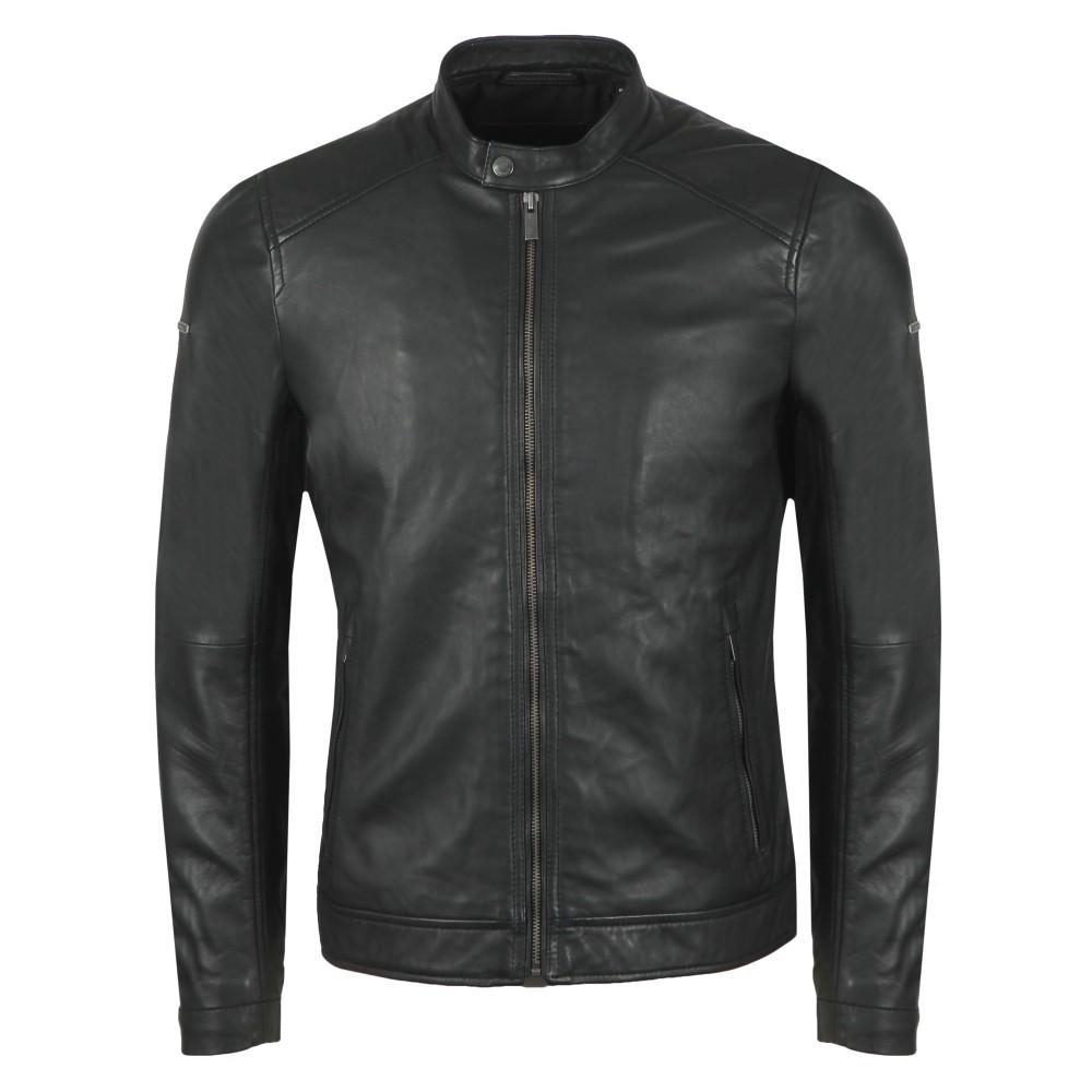 Hero Light Leather Racer Jacket