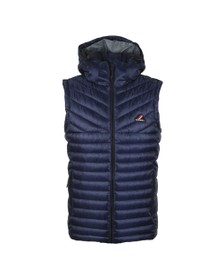 Superdry Mens Blue Desert Alchemy Fuji Gilet