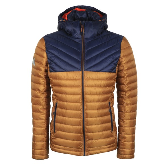 Superdry Mens Gold Colour Block Fuji Jacket