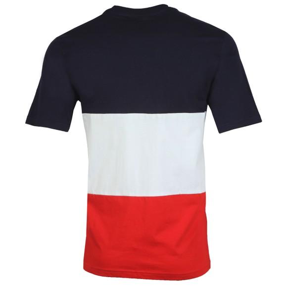 Fila Mens Blue Cut & Sew Stripe Graphic T-Shirt main image