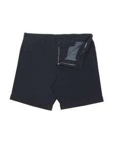 J.Lindeberg Mens Blue Nathan Super Satin Chino Short