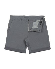 J.Lindeberg Mens Grey Nathan Super Satin Chino Short
