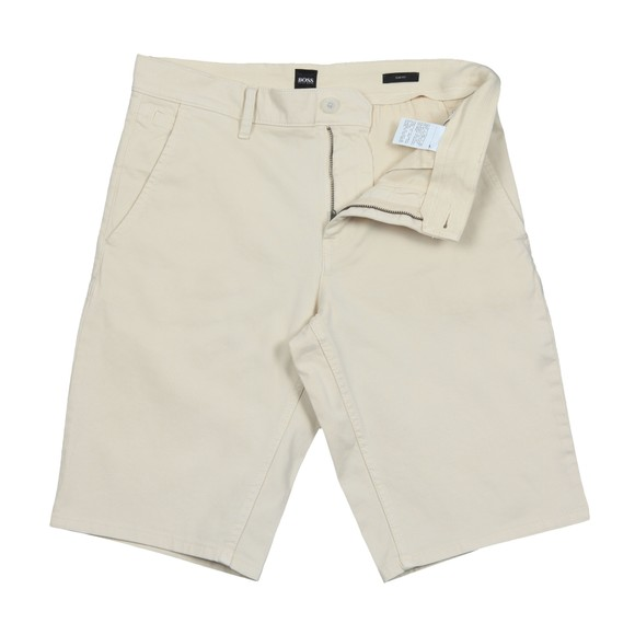 BOSS Mens Beige Casual Schino Slim Short