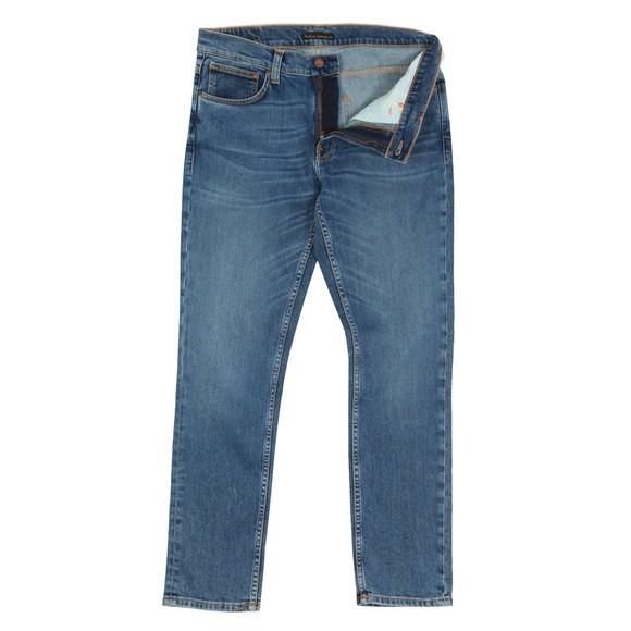Nudie Jeans Mens Lost Orange Lean Dean Jean main image