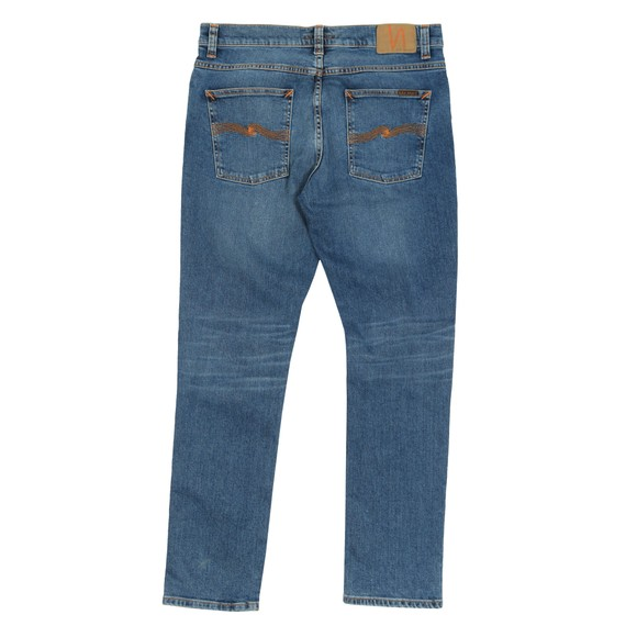 Nudie Jeans Mens Lost Orange Lean Dean Jean main image