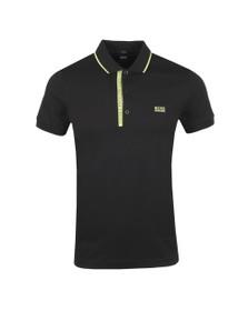 BOSS Mens Black Athleisure Paule 4 Polo Shirt
