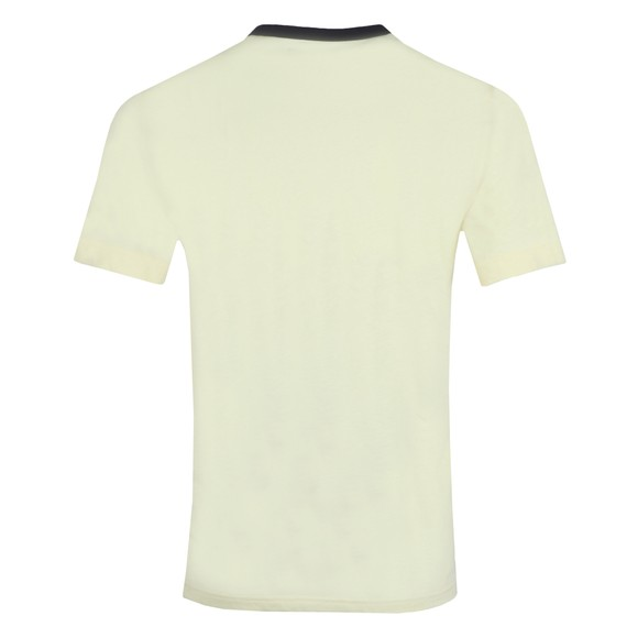 Fred Perry Mens Yellow Branded T-Shirt main image