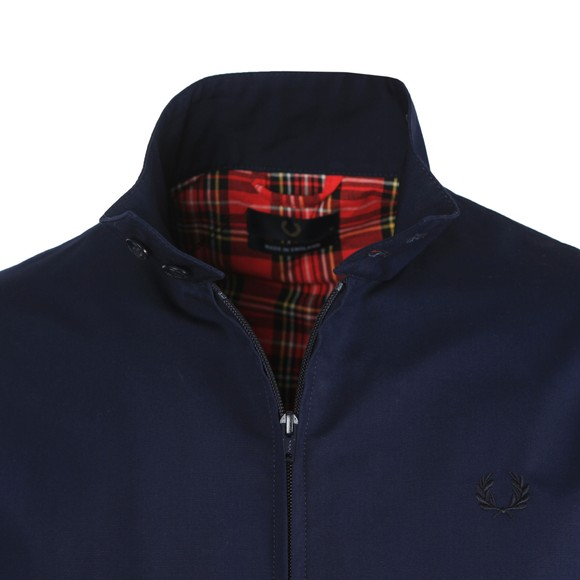 Fred Perry (Reissues) Mens Blue Made in England Harrington main image