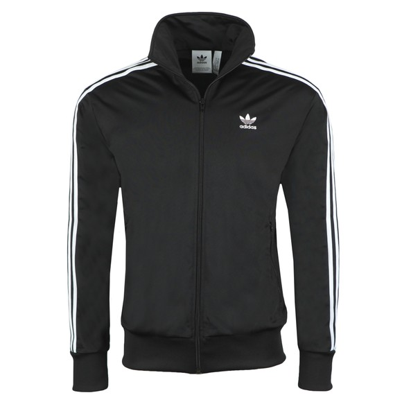 adidas Originals Mens Black Firebird Track Top main image
