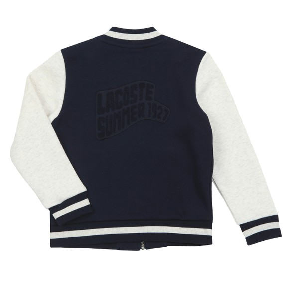 Lacoste Boys Blue SJ4822 Full Zip Sweatshirt main image