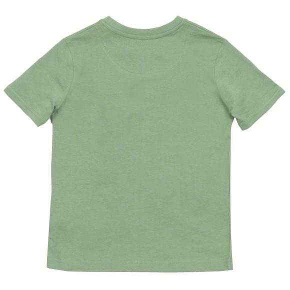 Lyle And Scott Junior Boys Green Plain Crew T-Shirt