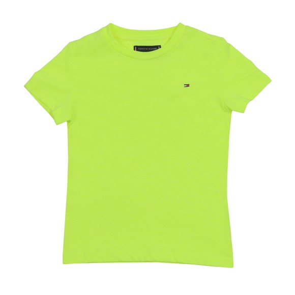 Tommy Hilfiger Kids Boys Yellow Essential Original T-Shirt