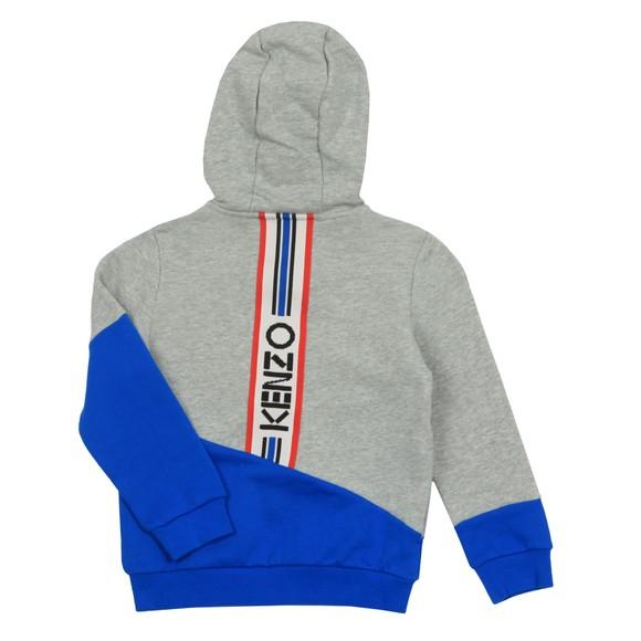 Kenzo Kids Boys Grey Logo JB 6 Hoody