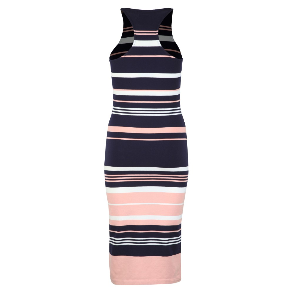 Verigated Stripe Midi Dress main image