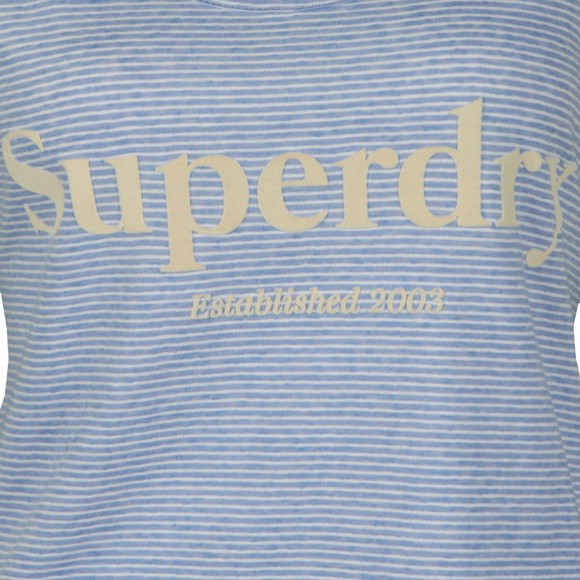 Superdry Womens Blue Summer House Graphic Vest