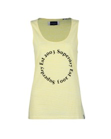 Superdry Womens Yellow Summer House Graphic Vest