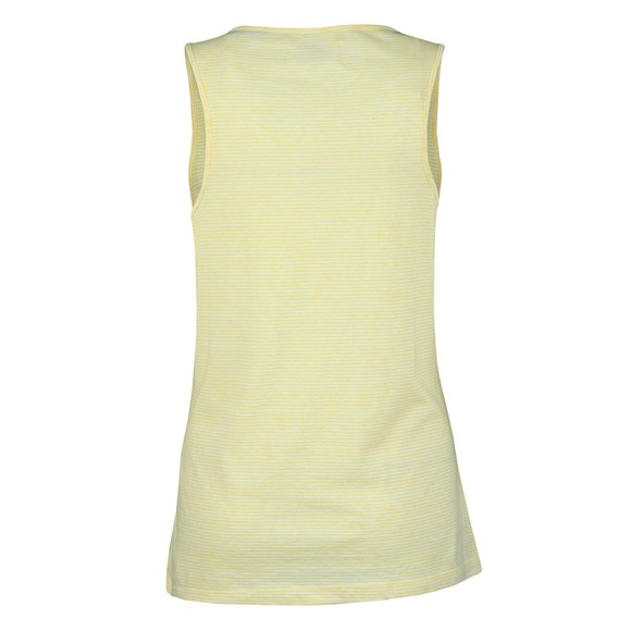 Superdry Womens Yellow Summer House Graphic Vest main image