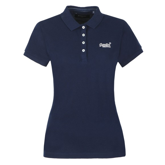 Superdry Womens Blue Polo Shirt
