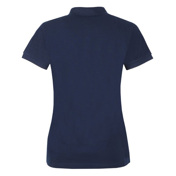 Superdry Womens Blue Polo Shirt main image