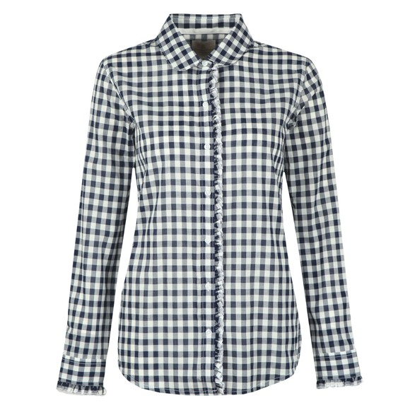 Barbour Lifestyle Womens Blue Mill Shirt