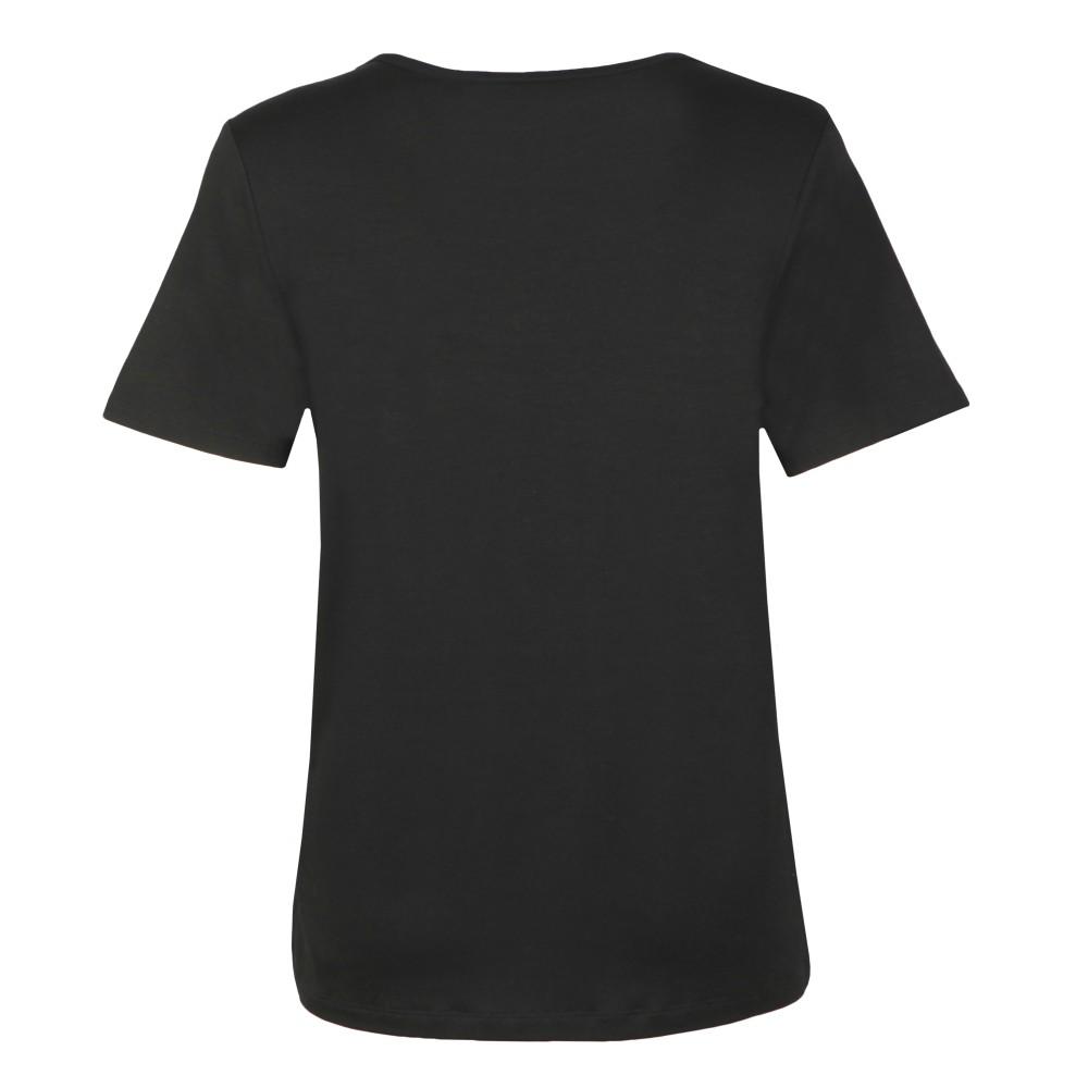 Metallic Crew Neck T Shirt main image