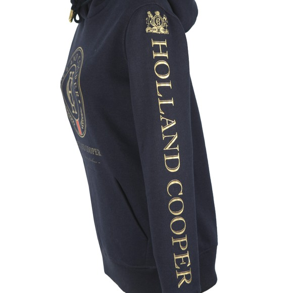 Holland Cooper Womens Blue HC Heritage Hoody