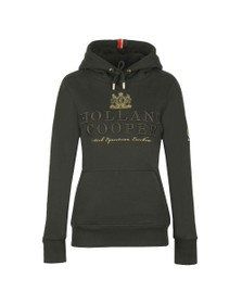 Holland Cooper Womens Green Classic Hoody