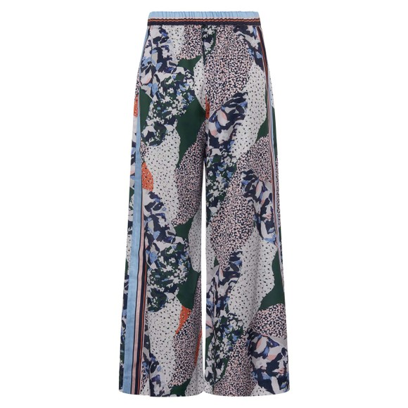 French Connection Womens Blue Asha Drape Printed Culotte main image