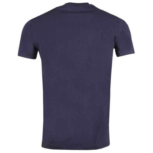 Dsquared2 Mens Blue D2D2 Arm T-Shirt main image