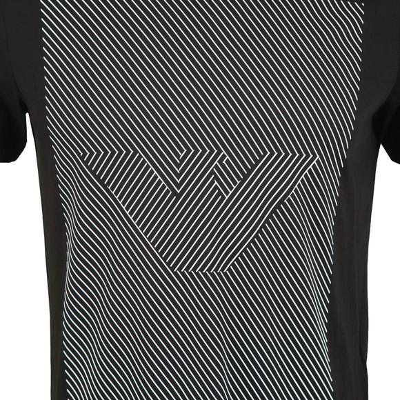 Emporio Armani Mens Black 3H1TB2 Logo T Shirt