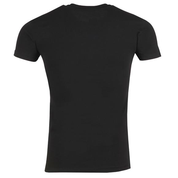 Emporio Armani Mens Black New Megalogo Stretch T Shirt main image