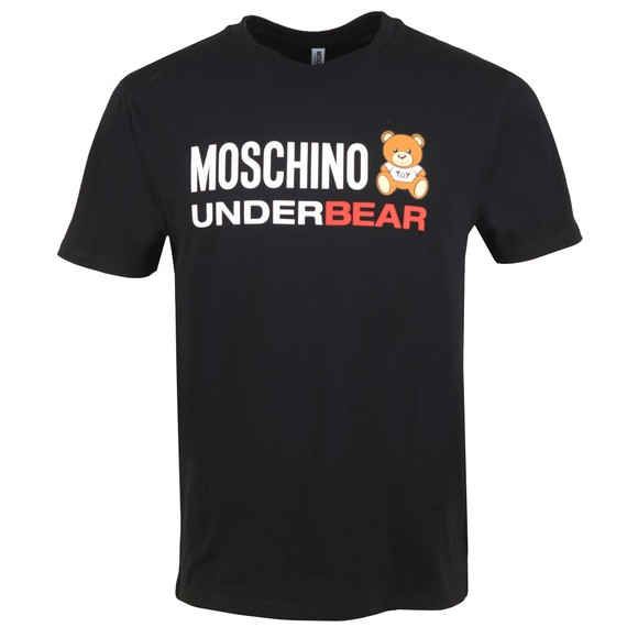 Moschino Mens Black Underbear T Shirt