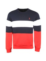 Tri Colour Crew Sweatshirt