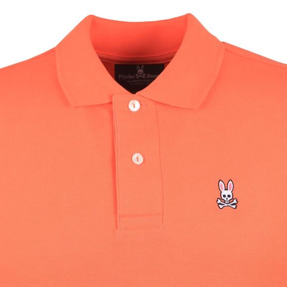 Psycho Bunny Mens Orange Classic Polo Shirt