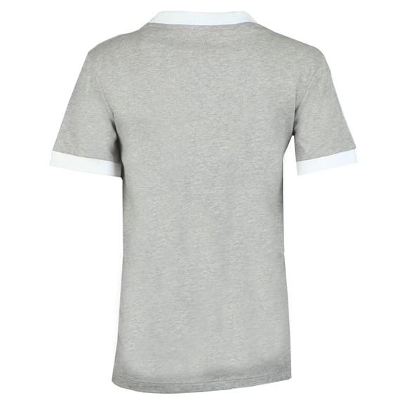 adidas Originals Womens Grey 3 Stripes T-Shirt main image