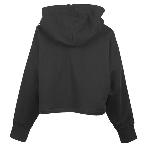 adidas Originals Womens Black Cropped Hoodie main image