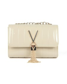Valentino by Mario Womens Off-White Bongo Large Satchel