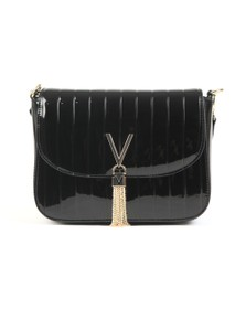 Valentino by Mario Womens Black Bongo Large Satchel