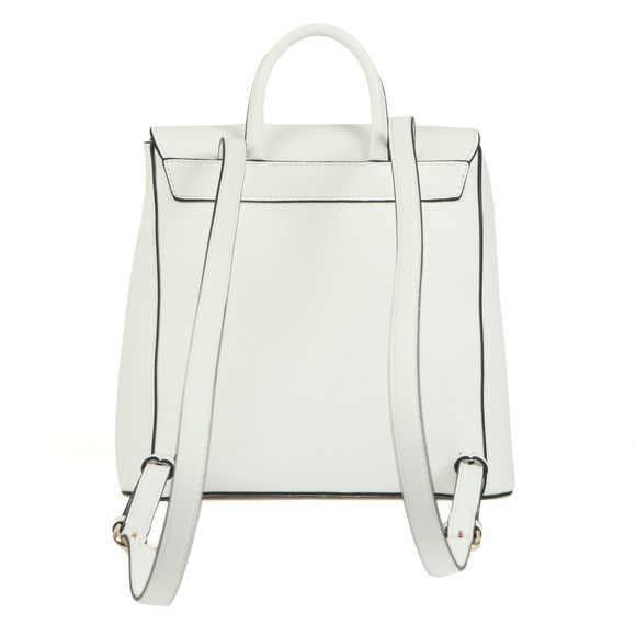 Valentino by Mario Womens White Falcor Backpack