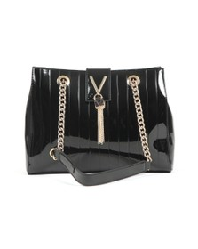 Valentino by Mario Womens Black Bongo Tote