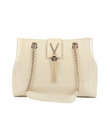 Valentino by Mario Womens Off-White Bongo Tote