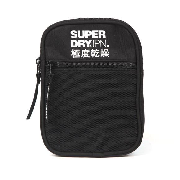 Superdry Mens Black Sport Pouch