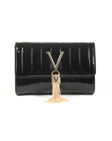 Valentino by Mario Womens Black Bongo Satchel