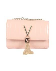 Valentino by Mario Womens Pink Bongo Satchel