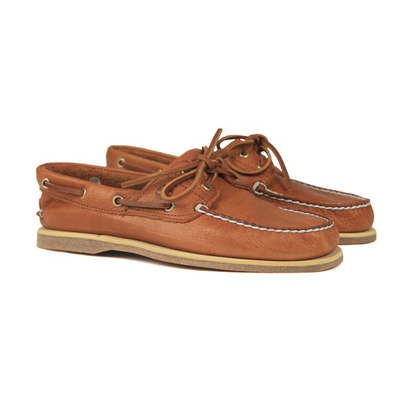 Timberland Mens Brown Deck Shoe main image